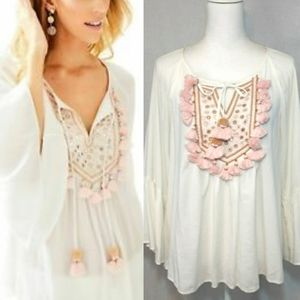 Lilly Pulitzer Shandy Top Sandstone Small